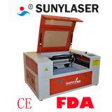 macchina del laser 50With60W con rotativo per i cilindri