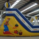 Надувной Санта-Клаус слайд надувных игрушек дети слайд