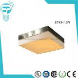 Bündige Montierung mit Glasdecke Ligt des quadrat-LED