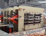 木製のパネルの生産ライン/薄板にされたベニヤの製材熱い出版物機械