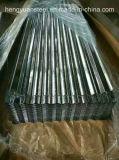 Strato ondulato del tetto galvanizzato Pitch76mm per le mattonelle di tetto