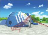 Спортивные площадки PE Kaiqi напольные с специальными характеристиками странной хаты, робота, птицы, животного моря для генерального планирования парка
