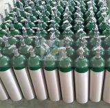 Cylindre oxygène-gaz en aluminium à haute pression d'usine
