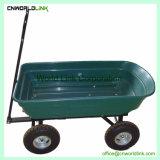 4 Колеса пластиковые Garden рукой во дворе тележки вагона
