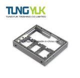 CNC 기계 부속품 알루미늄에게 주거 맷돌로 갈기