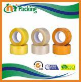 Bande adhésive claire d'emballage de BOPP pour le cachetage de carton