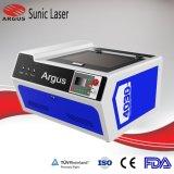 Minilaser-Ausschnitt-Maschine für hölzernen Acrylgewebe-Scherblock 400X300mm
