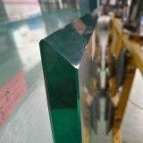 15mm Low-Iron Super d'épaisseur de la Chine à la fabrication de verre trempé