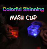 バルク点滅の白熱水センサーPVC LED軽いコップ、Masuのコップ、ビールLEDプラスチック標識燈のコップ