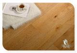 Ingeniería de roble, suelos de color madera de teca, cepillado