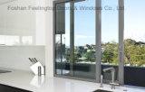 Aluminiumprofil-schiebendes Fenster mit doppeltem ausgeglichenem Glas (FT-W80)