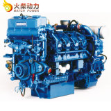 Motore marino diesel dei cilindri 500HP di serie 6 di Weichai Baudouin di garanzia della qualità