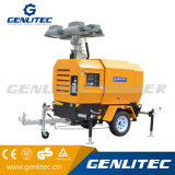 Torretta di illuminazione idraulica di potere di Genlitec (GLT4000-9H) con il motore della Perkins