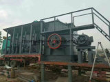 Mini usine mobile de broyeur écrasement de rebut pour le noir de pierre à chaux/granit/cuivre/d'or minerai/construction