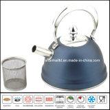 Caldaia di tè dell'acciaio inossidabile di colore di alta qualità 1L con il filtro