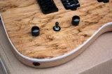 Hanhai Music / Guitare électrique à 7 cordes avec placage en bois pourri