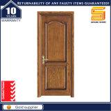 HDF Fibre de verre Charnière PVC en bois composée Porte en bois