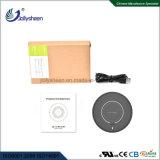 Nouveau boîtier noir sans fil à la mode chargeur Smart chargeur sans fil Ce RoHS FCC