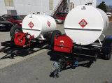分配ポンプを搭載する1000L燃料タンクのトレーラー