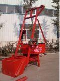O melhor misturador concreto revolvendo elétrico de venda da bandeja da pá Jq350