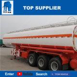 O tanque de combustível de aço carbono Titan semi reboque o óleo do tanque do caminhão-tanque de combustível
