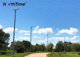 réverbère automatique du panneau solaire DEL de contrôle de temps 120W léger