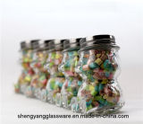Bottiglia creativa della frutta dell'orsacchiotto dell'orso del vaso della caramella il vaso della bottiglia di vetro di vetro sveglia di immagazzinamento in