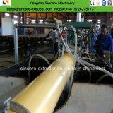 까만 HDPE 또는 폴리우레탄 거품을%s 가진 전 격리된 관을%s 기계를 만드는 노란 쉘