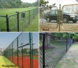 PVC Coated Chain Link Fence Netting 또는 Galvanized Chain Link Fence 15년 Factory Yaqi Supply