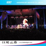 Haute luminosité P8 SMD3535 pleine couleur panneau LED de location de plein air pour le spectacle de scène