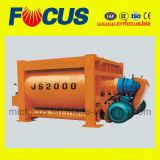 2000L электрическая конкретная смешивая машина, смеситель твиновского вала Js2000 конкретный
