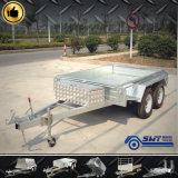 Totalmente soldado pesado camión de caja de doble eje (SWT-TT85)