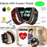 Relógio do perseguidor de Wristwatch&Smartwatch GPS com tempo real D28 de seguimento
