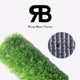 grama artificial sintética do relvado do gramado da decoração de 15mm para o Greening do monte da areia/Greening do beira-mar/ajardinar Greening da estrada