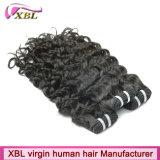 自然な人間の毛髪の束のブラジルのバージンのRemyの織り方