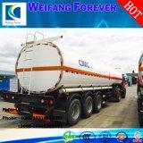 3axles 42000Lのアルミ合金の石油タンカー