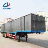 Venda quente 3eixos de carga da caixa de parede lateral do reboque/semi-reboque