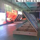 Oberste europäische Zugriff LED-Bildschirmanzeige der QualitätsP10 im Freien vordere