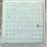 Carré de la résine composite de couvercles de trou d'homme