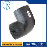 HDPE installazione di Electrofusion del gomito da 90 gradi