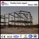 A manufatura de aço clara pré-fabricada do projeto da construção e instala o armazém da construção de aço