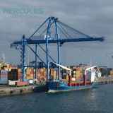 Socle de pliage navire Crane Applicated dans le port