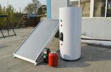 Placa plana montada na parede Split aquecedor solar de água