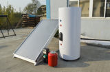 Wall Mounted placa lisa de Split aquecedor solar de água
