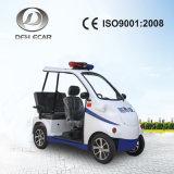 2 setzte elektrische Gebrauchsfahrzeug-Polizei-Patrouillen-elektrisches Auto
