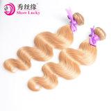 Haar van de Uitbreidingen van het Haar van het Haar van de Rang van de Kleur van de blonde 8A het Mongoolse Kroezige Krullende Goedkope Menselijke