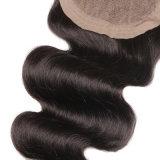 Parte alta revestida poli cheia parte injetada do cabelo da peruca do Mens da cor de Brown, Toupee das mulheres