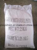 Натрия Metabisulfite пищевой категории, как пищевая добавка CAS: 7681-57-4