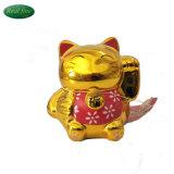 高品質の陶磁器猫の金製陶術のお金猫