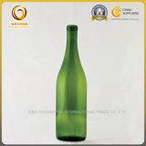 Изготовленный на заказ зеленая бутылка вина цвета 750ml стеклянная на сбываниях (1268)